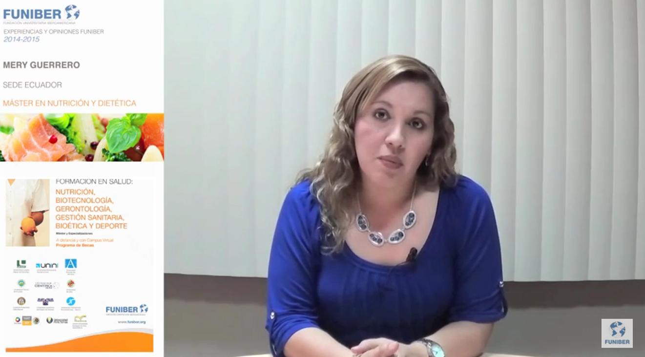 Opiniones FUNIBER: Alumna de Ecuador nos habla de su experiencia