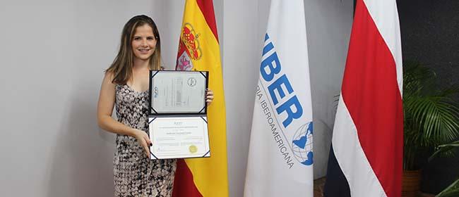 Opinión de Andreina Guzmán Vindas, alumna becada de la Especialización en Educación Ambiental