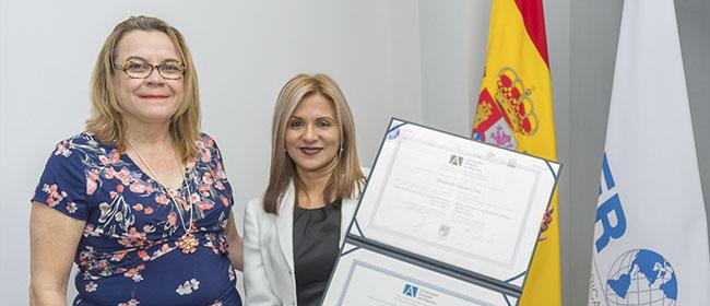 Opinión de Amanda Lasso, alumna costarricense becada por FUNIBER