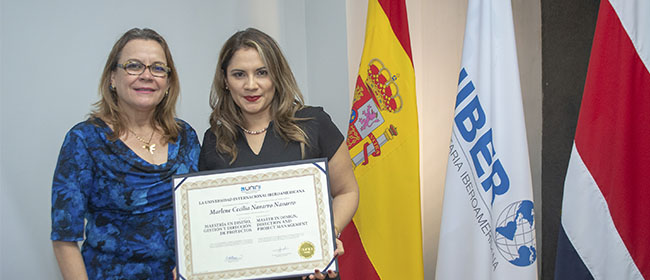 Opinión de Marlene Navarro, alumna costarricense becada por FUNIBER