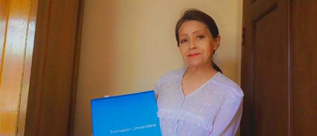 Entrevista a Mireya Herbas Tudor, estudiante boliviana becada por FUNIBER