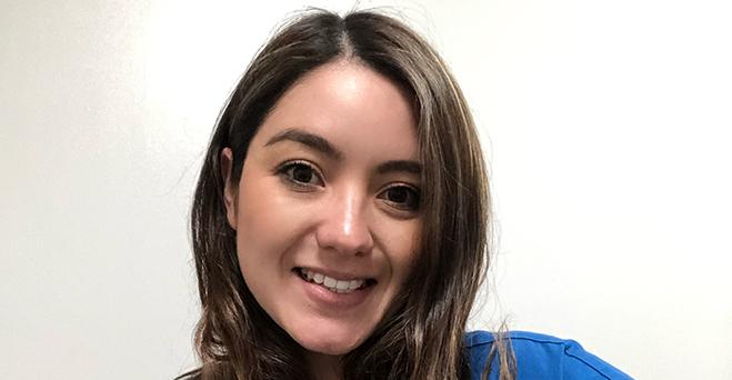 Entrevista a Andrea Rodríguez Herrera, estudiante del área de Salud y Nutrición becada por FUNIBER